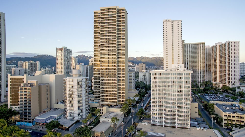 Exterior, Aston Waikiki Beach Tower