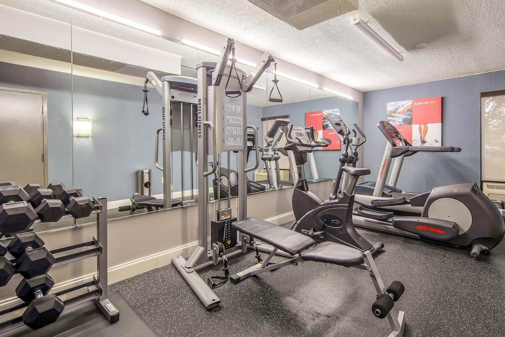 Fitness Facility, Comfort Inn Greenville - Haywood Mall