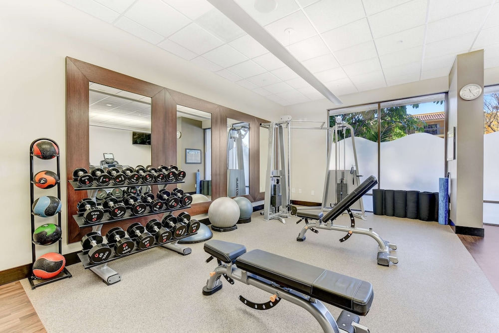 Fitness Facility, Hilton Irvine Orange County Airport