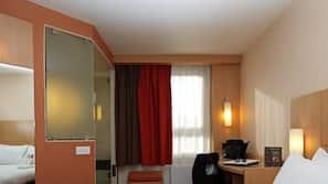 Literie de qualité supérieure, bureau, chambres insonorisées