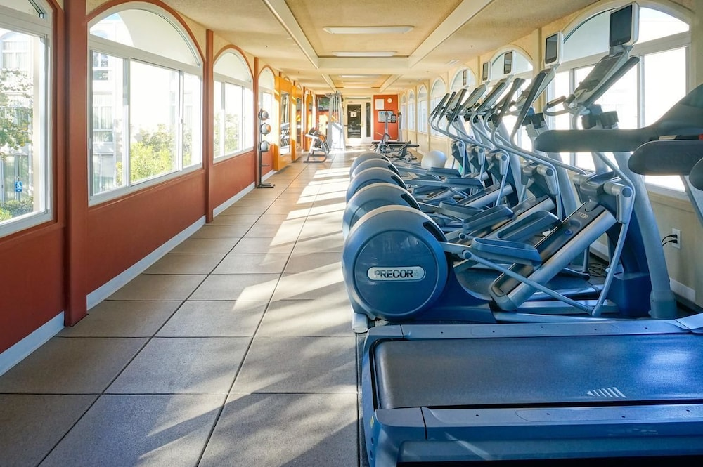 Fitness Facility, Hilton Oakland Airport