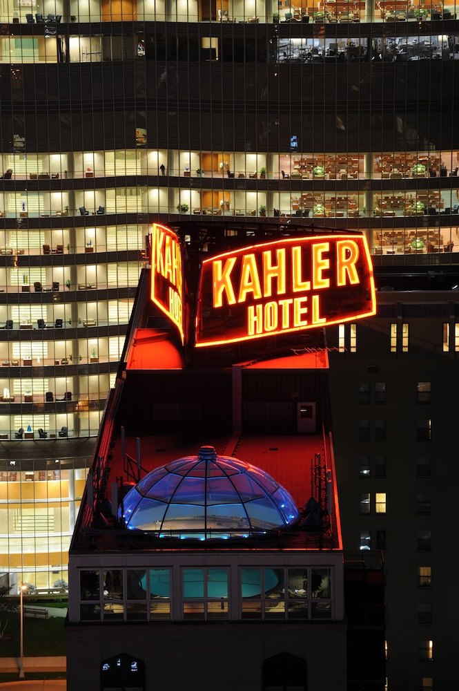 Aerial View, Kahler Grand Hotel