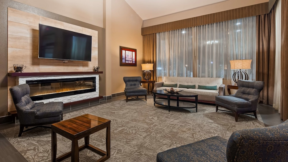 Fireplace, Best Western West Towne Suites