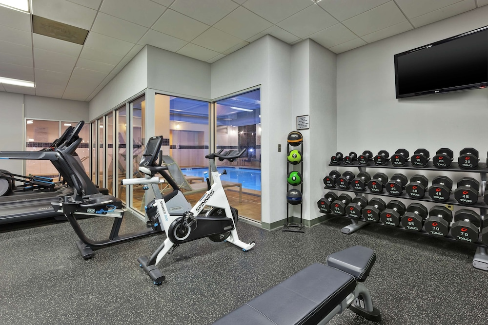 Fitness Facility, Embassy Suites by Hilton Auburn Hills