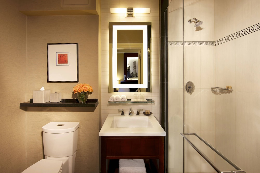 Bathroom, The Algonquin Hotel Times Square, Autograph Collection