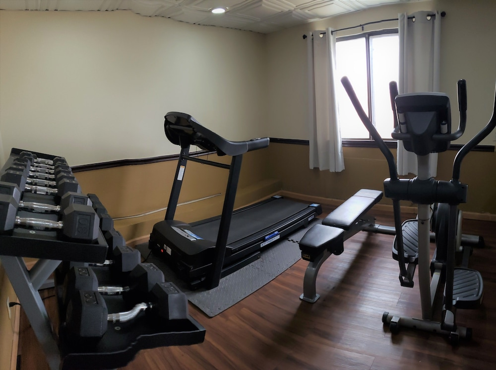Fitness Facility, Quality Inn DFW Airport North