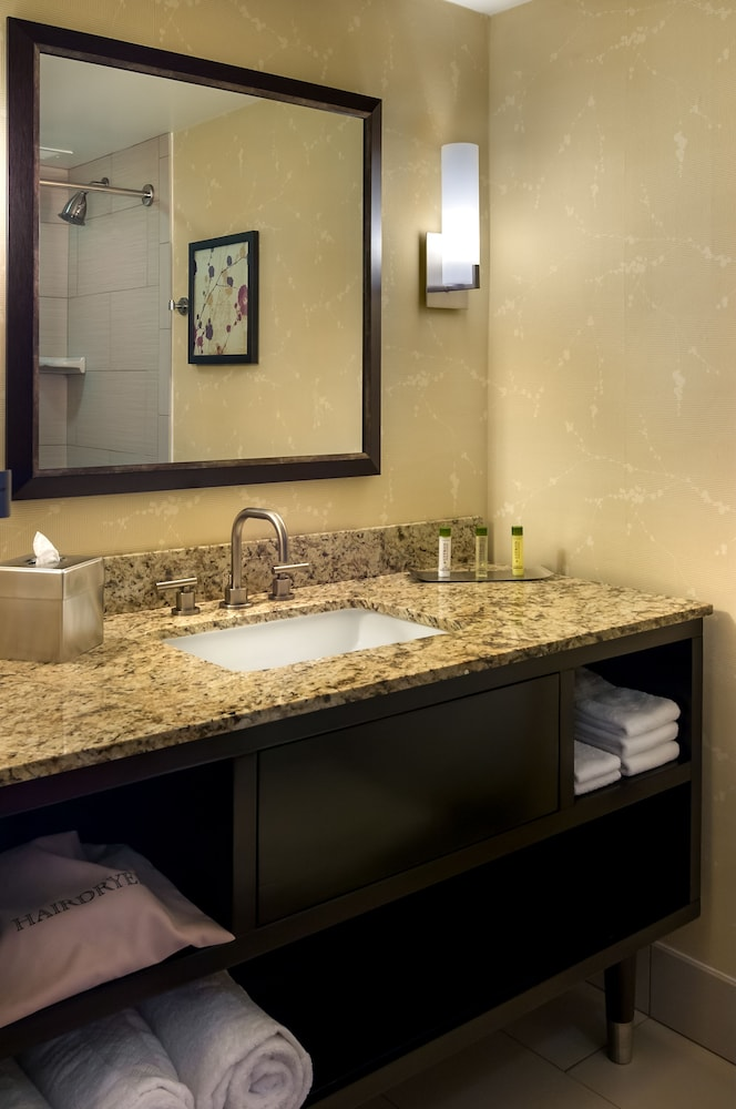 Bathroom, DoubleTree by Hilton Hotel Los Angeles Downtown