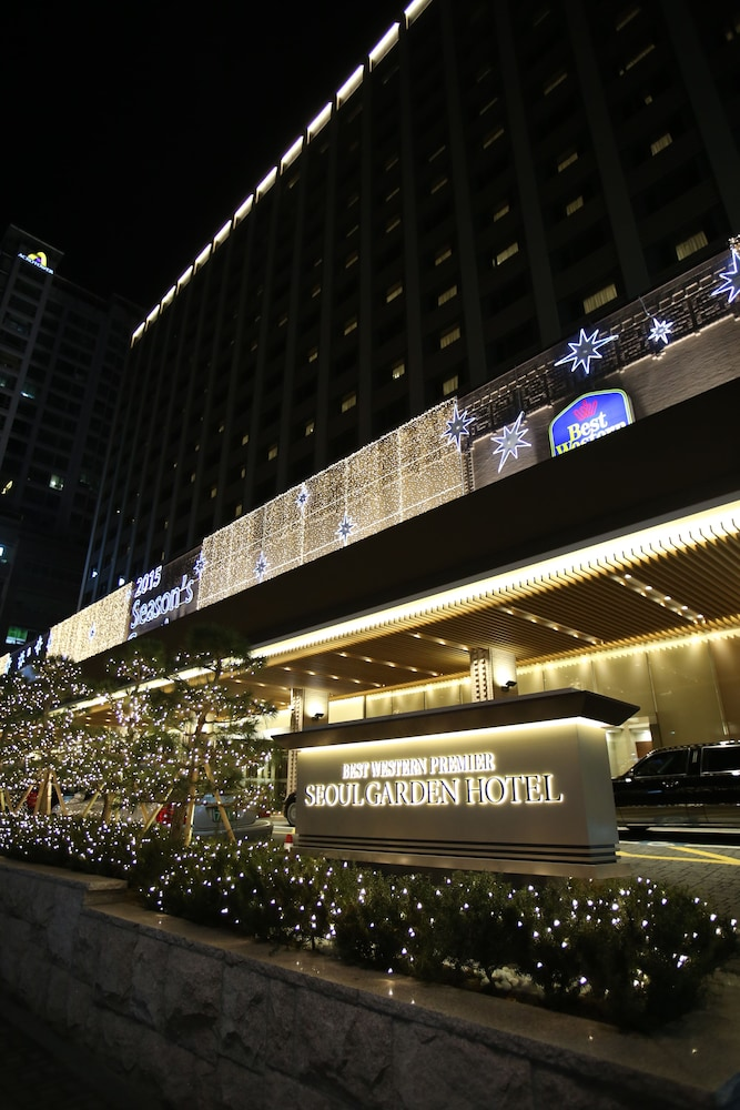 Front of Property - Evening/Night, Best Western Premier Seoul Garden Hotel