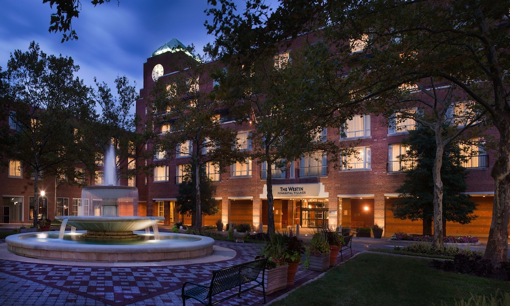 Front of Property - Evening/Night, The Westin Princeton at Forrestal Village