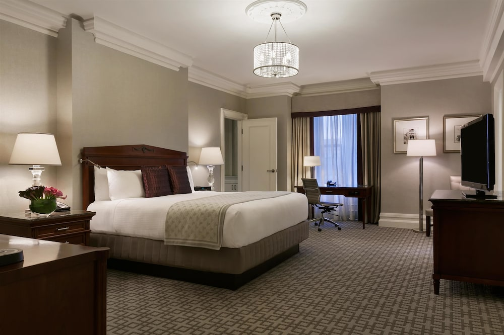 Room, Fairmont Copley Plaza, Boston