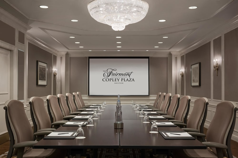 Meeting Facility, Fairmont Copley Plaza, Boston