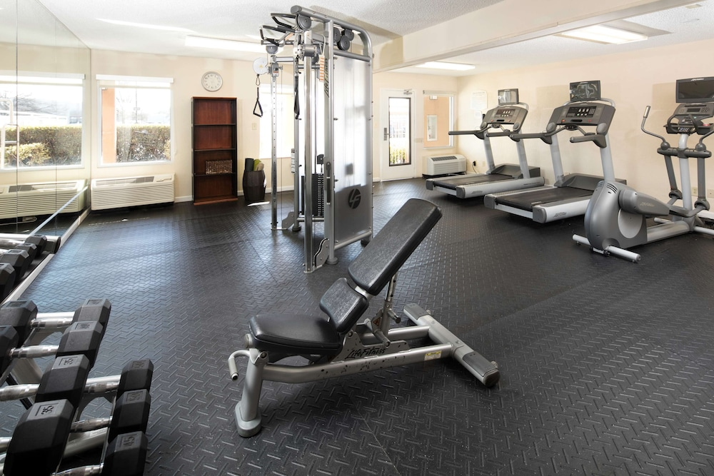Fitness Facility, Red Lion Inn & Suites Fayetteville at Cross Creek Mall
