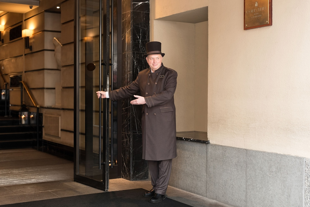Property Entrance, Corinthia Hotel St Petersburg