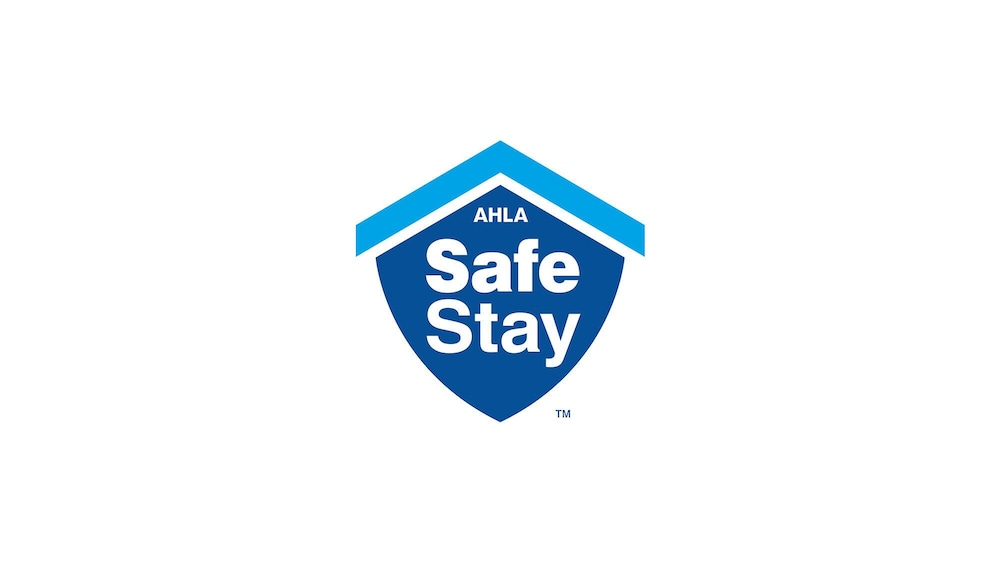 Cleanliness badge, SureStay Plus Hotel by Best Western Kansas City Northeast
