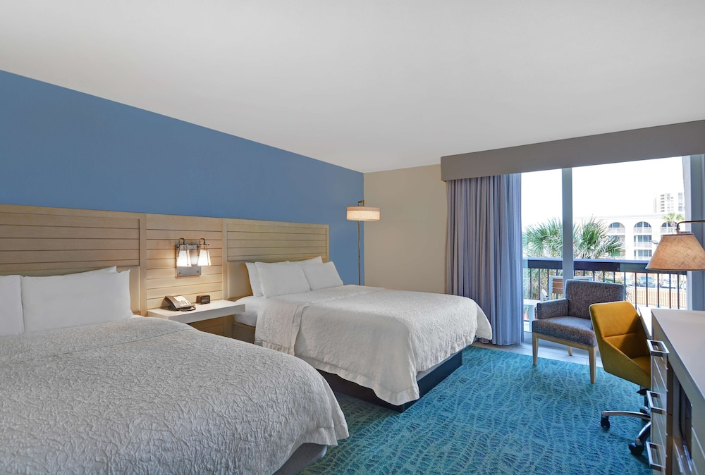 Room, Hampton Inn Jacksonville Beach/Oceanfront