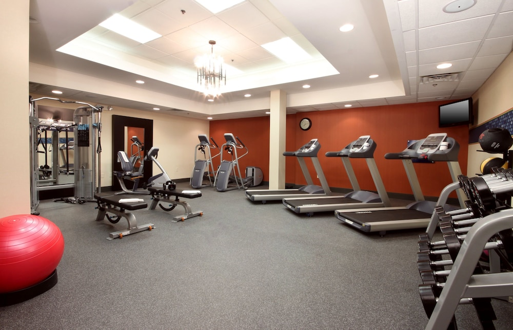Fitness Facility, Hampton Inn Jacksonville Beach/Oceanfront
