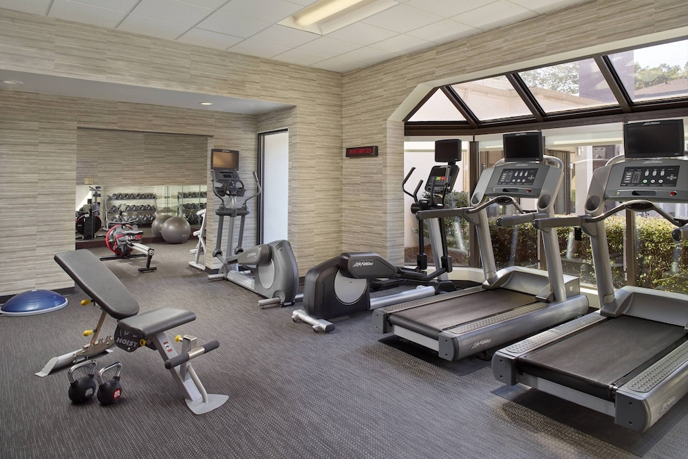 Gym, Courtyard by Marriott Raleigh Midtown