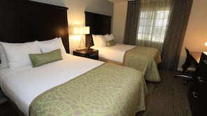 1 bedroom, pillowtop beds, in-room safe, laptop workspace