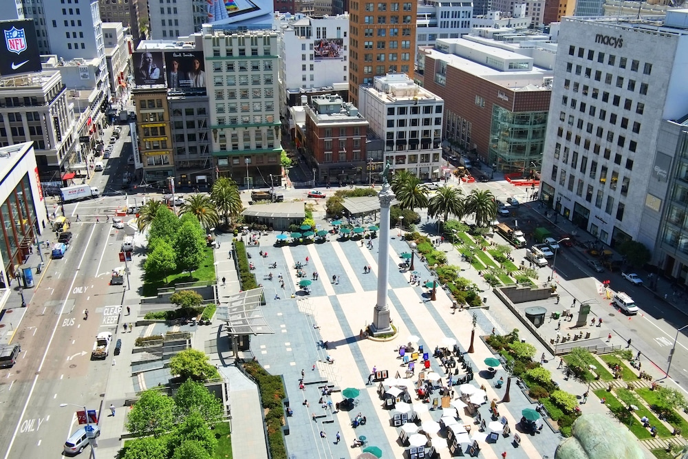 Rooftop terrace, The Westin St. Francis San Francisco on Union Square