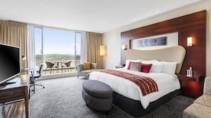 1 bedroom, Egyptian cotton sheets, hypo-allergenic bedding, minibar