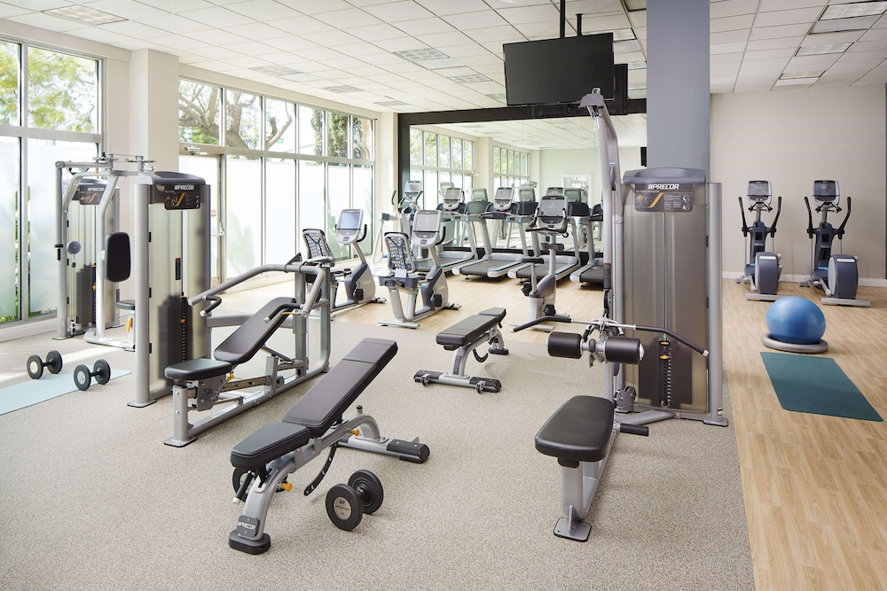 Fitness Facility, DoubleTree by Hilton Los Angeles - Commerce