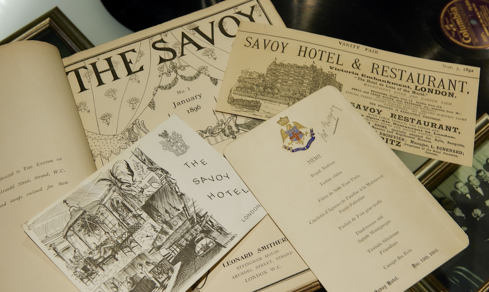 Interior Detail, The Savoy