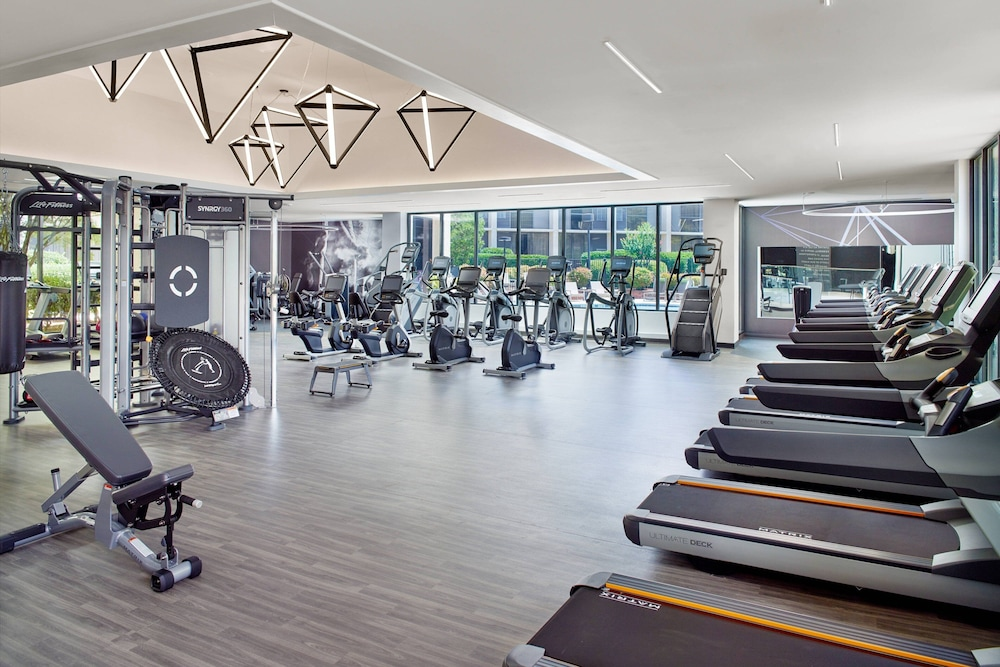 Fitness Facility, Atlanta Marriott Northwest at Galleria
