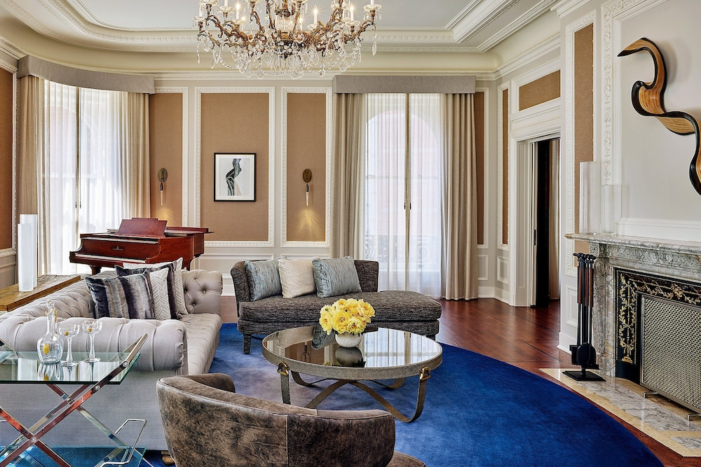 Living Room, Palace Hotel, a Luxury Collection Hotel, San Francisco