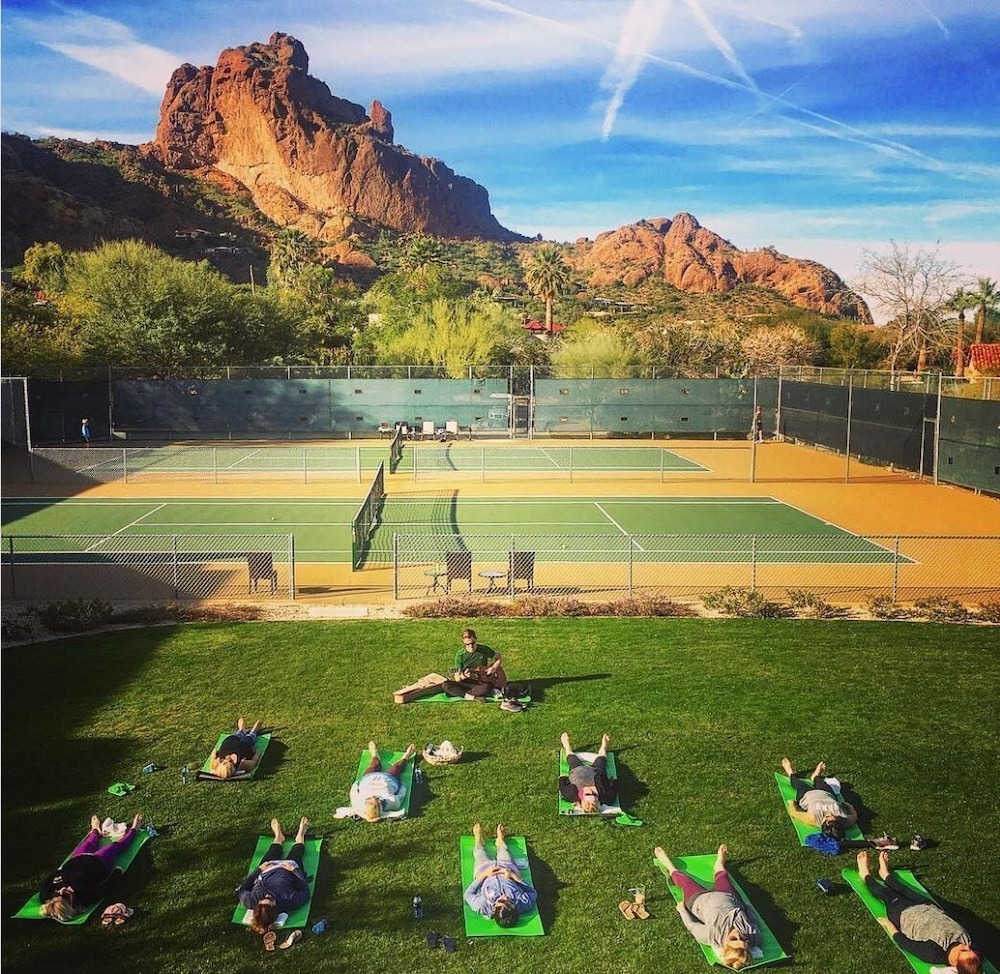 Tennis Court, Sanctuary on Camelback Mountain Resort and Spa