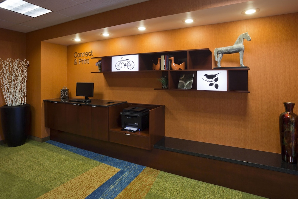Business Center, Fairfield Inn by Marriott Evansville West