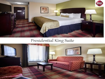 Presidential Suite, 1 King Bed, Non Smoking, Refrigerator & Microwave (with Sofabed) - Guestroom