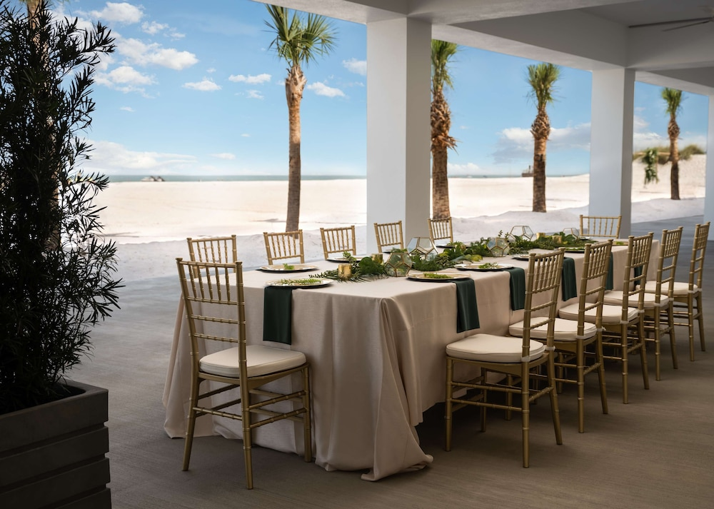 Outdoor Wedding Area, Hilton Clearwater Beach Resort & Spa