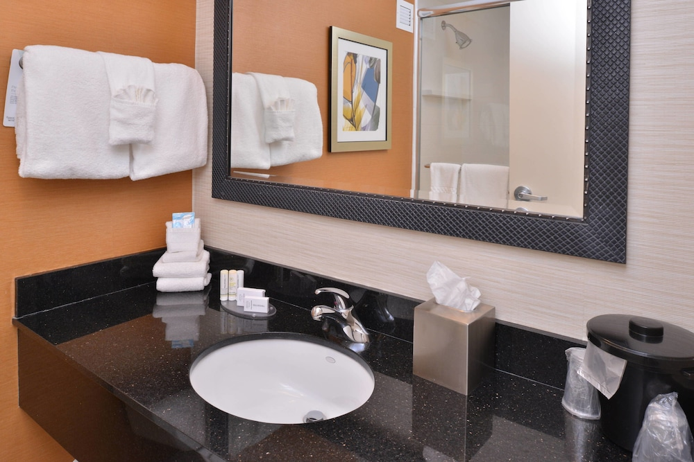 Bathroom, Fairfield Inn Marriott Rochester Airport