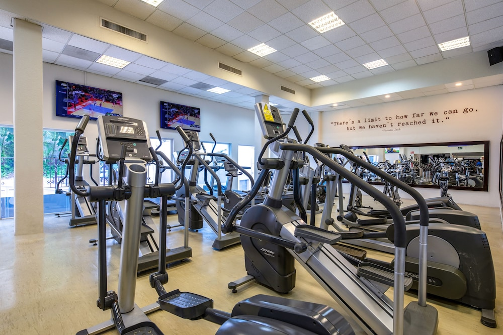 Gym, Panama Jack Resorts Cancun All Inclusive