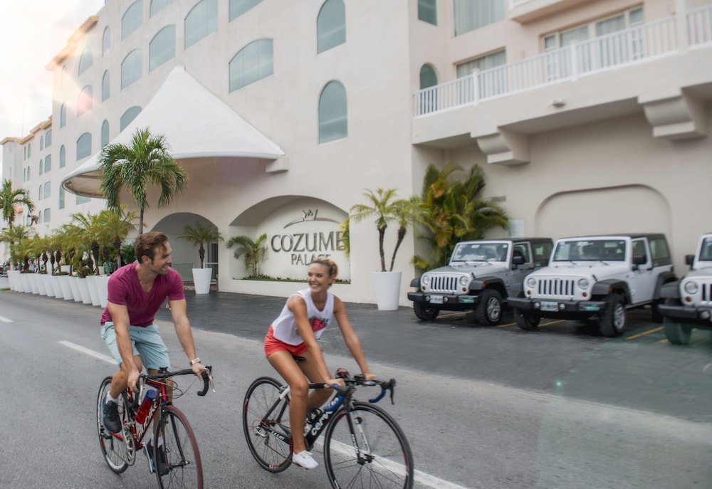 Bicycling, Cozumel Palace All Inclusive