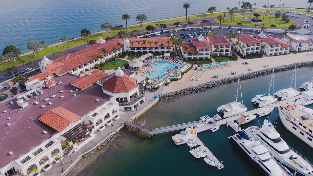 Aerial View, Kona Kai Resort & Spa, A Noble House Resort