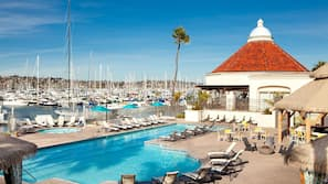 2 outdoor pools, open 7:00 AM to 10:00 PM, pool cabanas (surcharge)