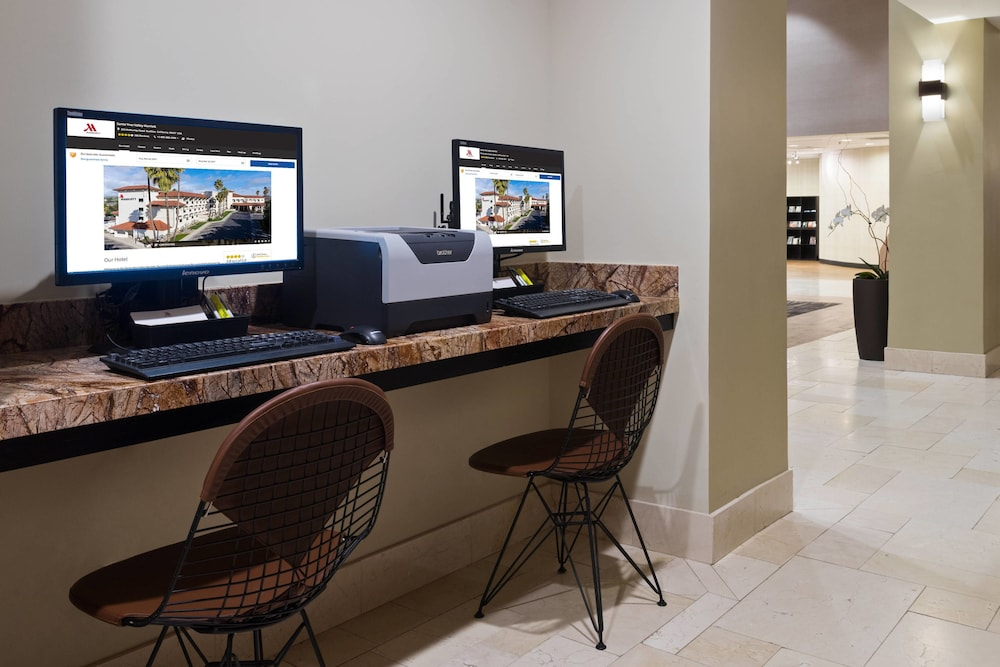 Business Center, Santa Ynez Valley Marriott