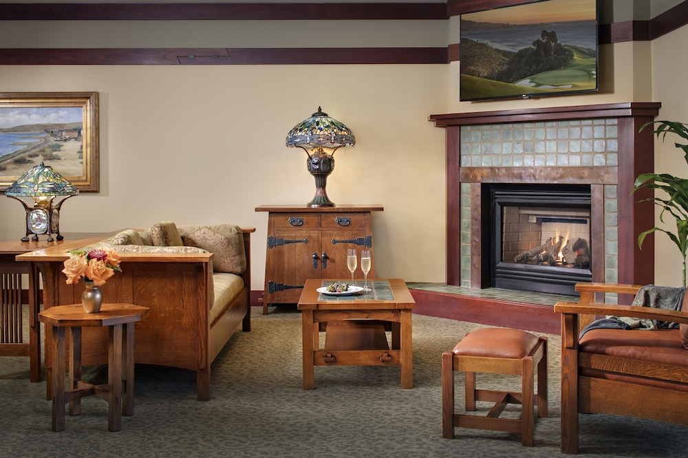 Living Area, The Lodge at Torrey Pines
