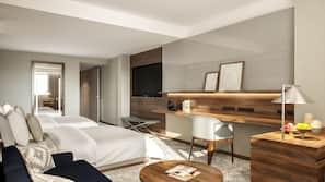 Sängtillbehör av högsta kvalitet, Select Comfort-madrasser och minibar