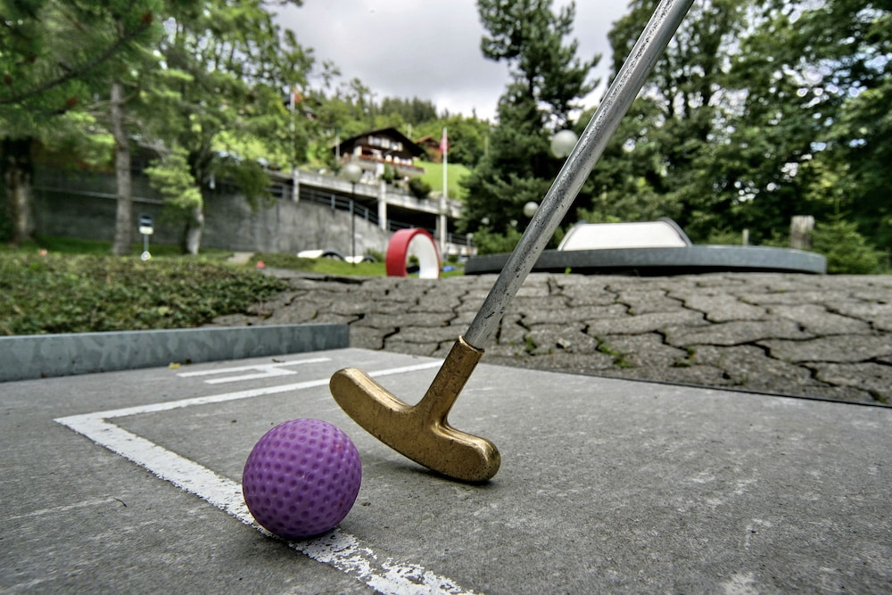 Mini-Golf, Dorint Blüemlisalp Beatenberg/Interlaken