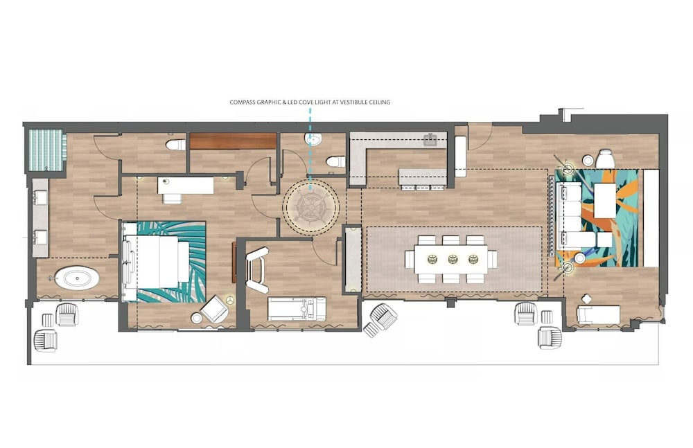 Floor plan, Margaritaville Lake Resort, Lake Conroe/Houston