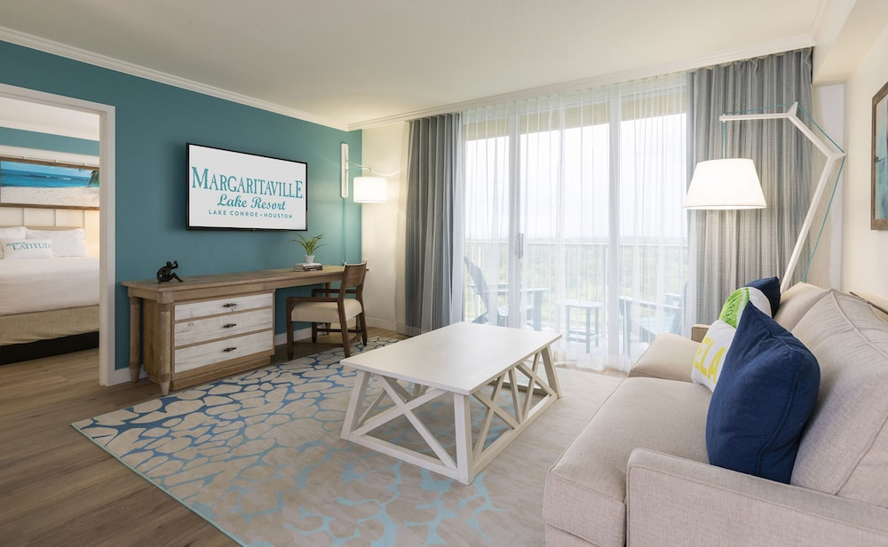 Living Area, Margaritaville Lake Resort, Lake Conroe/Houston