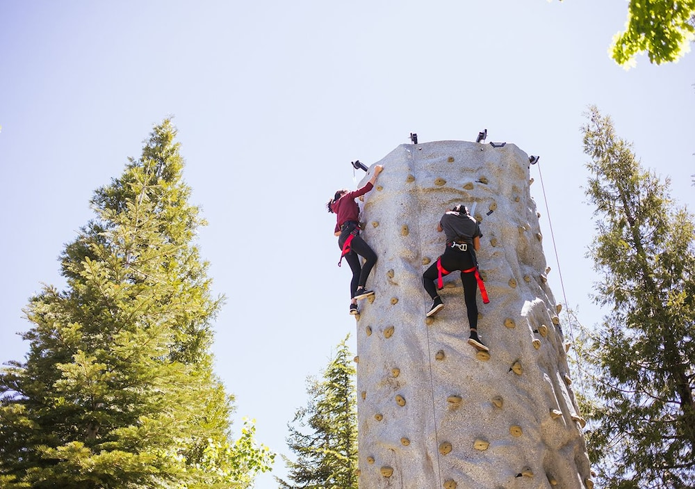 Outdoor Rock Climbing, Tenaya Lodge at Yosemite
