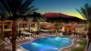 2 outdoor pools, cabanas (surcharge), sun loungers