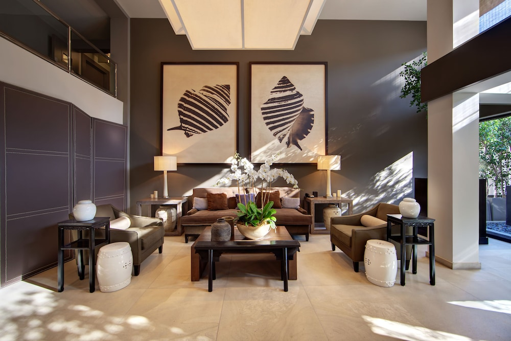 Luxe Sunset Boulevard Hotel 4 0 Out Of 5 Exterior Featured Image Lobby Sitting Area
