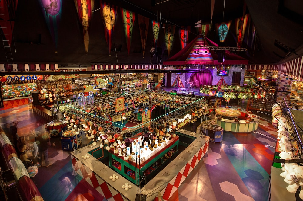 Children's Play Area - Indoor, Circus Circus Hotel Casino Reno at THE ROW