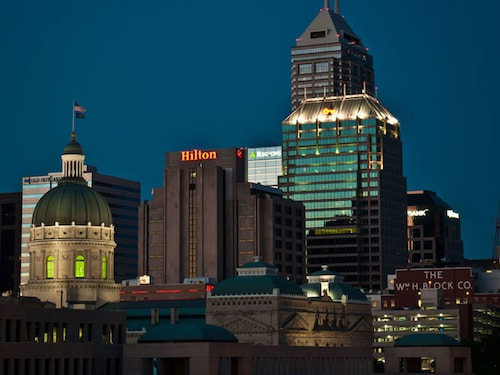 Check Expedia for Availability of Hilton Indianapolis Hotel & Suites