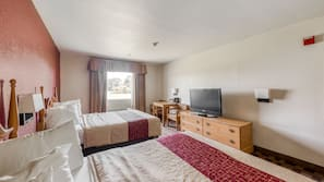 1 bedroom, desk, iron/ironing board, free cribs/infant beds
