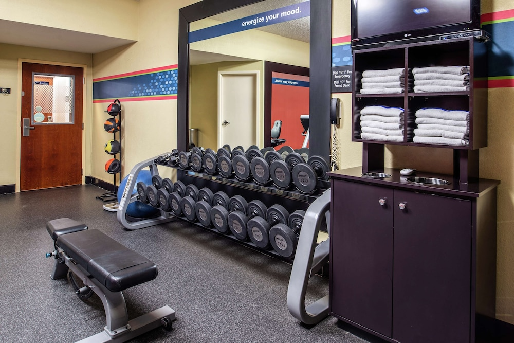 Fitness Facility, Hampton Inn Albuquerque-University/Midtown